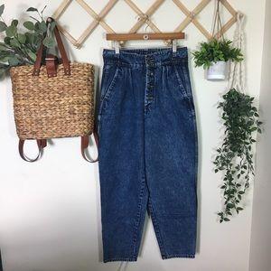 Vintage | Pleated Jeans P356